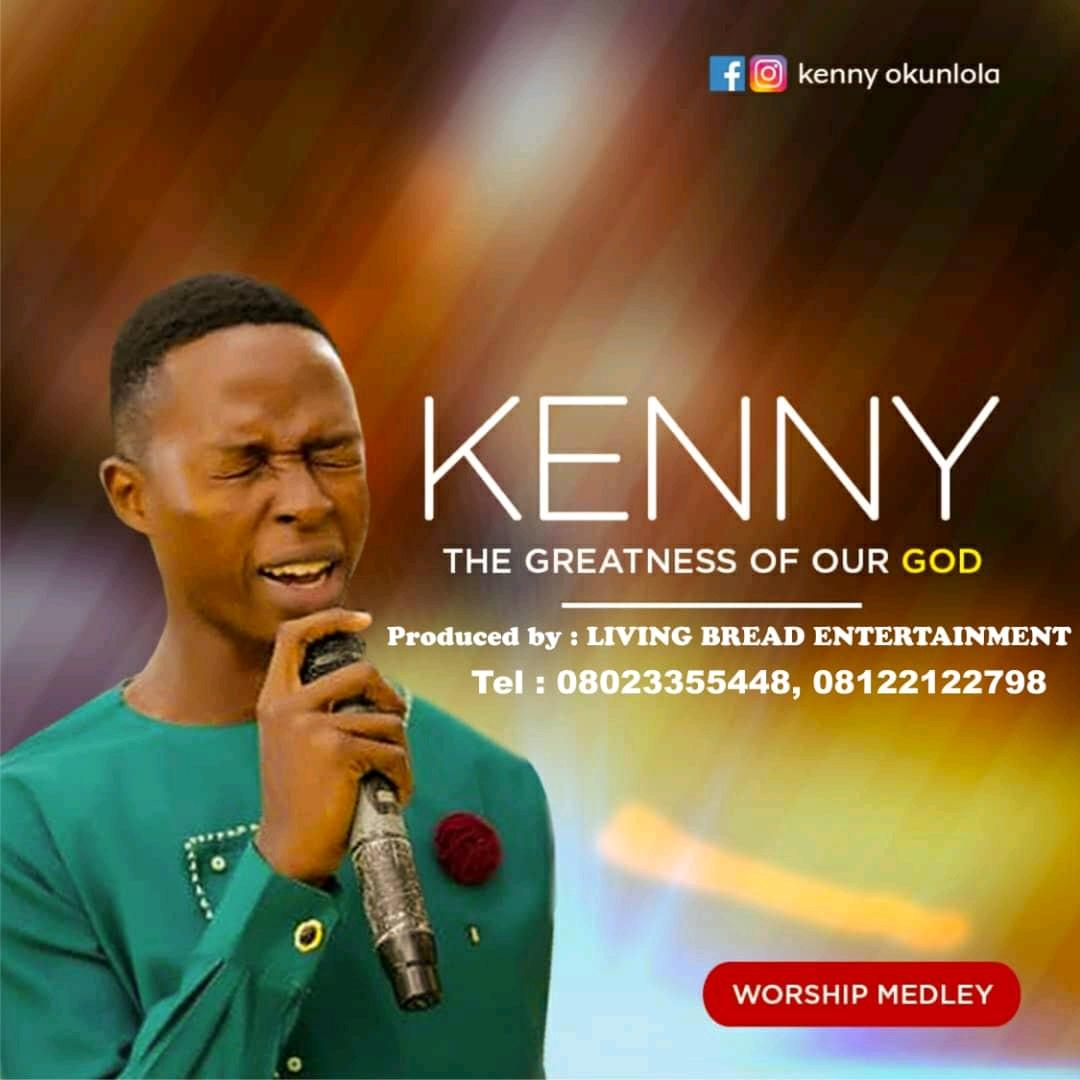 """New Music:-""""Worship Medley"""" By Kenny Okunlola 1"""